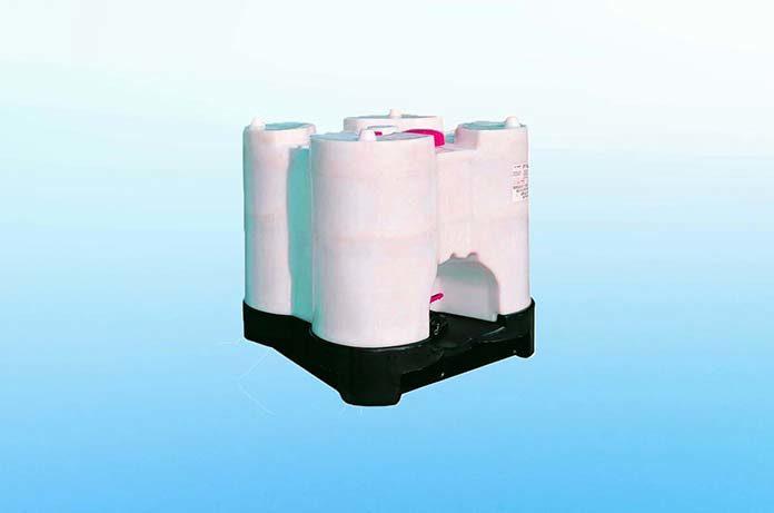 Produkcja plastikowych beczek - pomoc w transporcie
